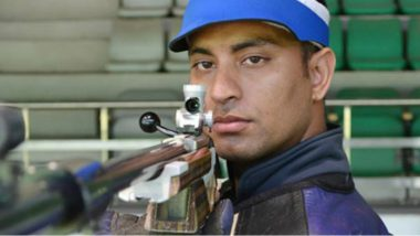 Sanjeev Rajput Wins Silver Medal in 50m Rifle 3 Positions Men Shooting Finals, India's 2018 Asian Games Medal Tally Moves to 8