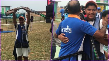 Shardul Vihan, 15-Year-Old Wins Silver Medal in Men's Double Trap, Takes India's Medal Tally in Asian Games 2018 to 17