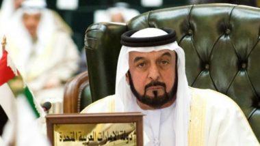 UAE President Sheikh Khalifa bin Zayed Al Nahyan Announces to Provide Aid to Flood-hit Kerala