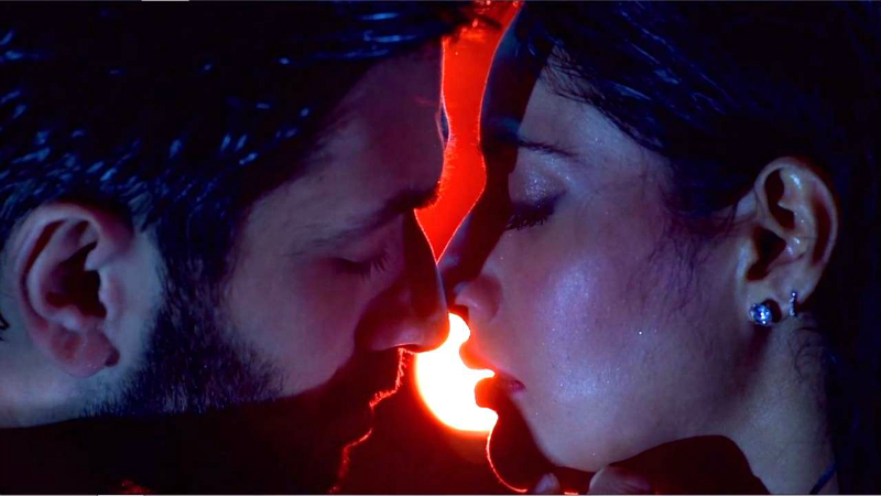 Shivaay Almost Kisses Anika In This Passion Filled Romantic Sequence