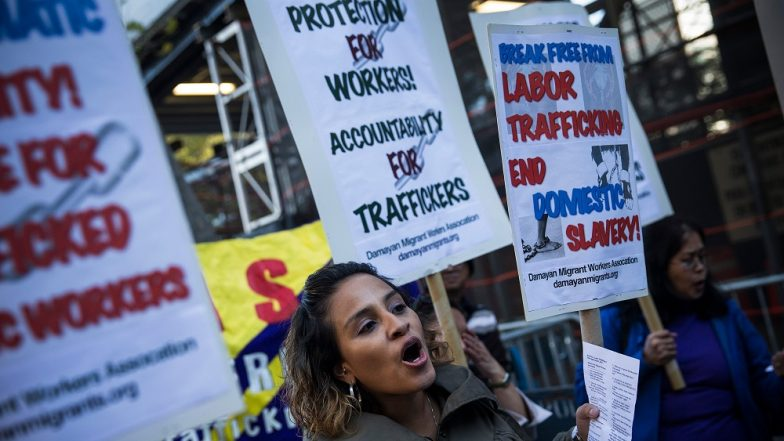 Modern Slavery Cases in UK up by 27% in 2017-18