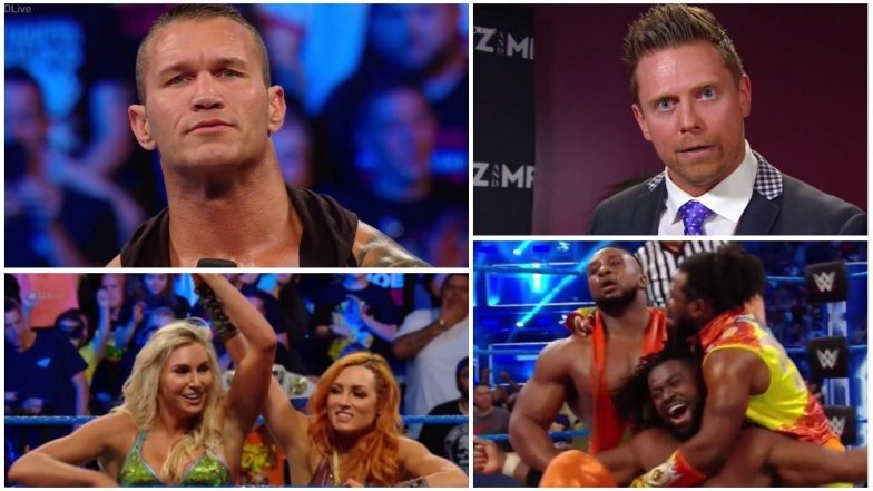 WWE SmackDown LIVE Matches' Results and Highlights: The New Day Become No. 1 Contenders; The Miz Accepts Daniel Bryan's SummerSlam Challenge