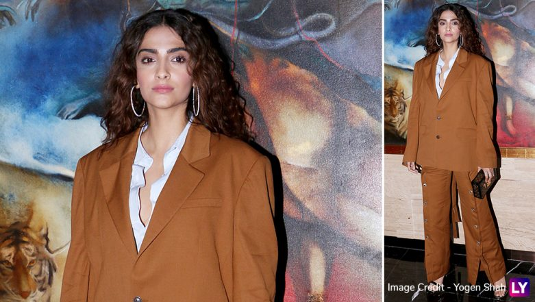 Sonam Kapoor Thinks People are Using 'Nepotism' Word for Their Own Benefit and to Put Other People Down