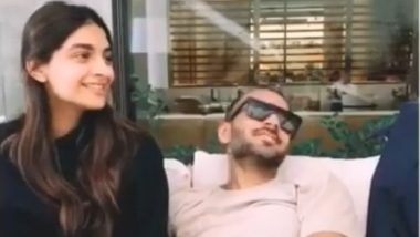 Sonam Kapoor Ahuja And husband Anand Ahuja Are Monkeying Around And It Is Wickedly Adorable - Watch Video