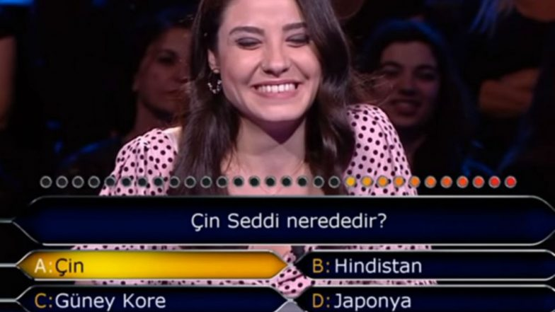'Where Is the Great Wall of China?' Social Media Users Troll Turkish Contestant for Using Two Lifelines to Find the Right Answer