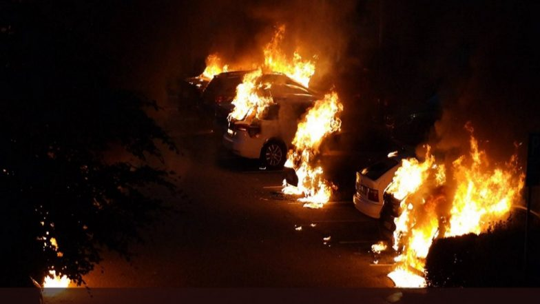 Over 80 Vehicles Fire-Bombed in Coordinated Attack across Four Cities in Sweden