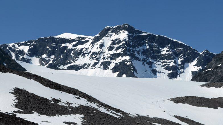 European Heatwave Effects: Sweden's Tallest Peak of Kebnekaise Mountain Loses as Glacier Top Melts