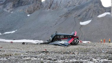 Vintage Plane Crashes in Swiss Alps, 20 Killed