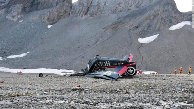 Switzerland crash: Up to 20 feared dead as WW2 plane crash