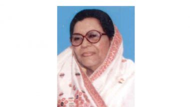 Syeda Anwara Taimur Dies: PM Modi, Sarbananda Sonowal, Others Condole Demise of Assam's Only Woman CM