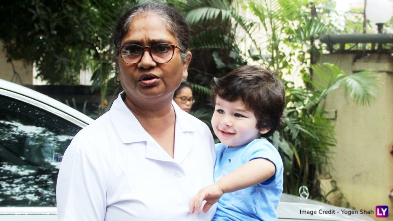 Taimur Ali Khan's Nanny Gets Angry as a Man Forces a Selfie With the Star Baby (Watch Video)