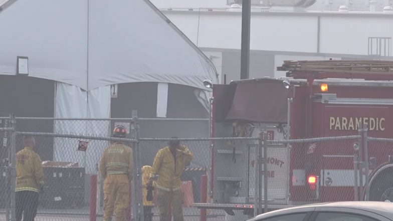 Fire Breaks Out at Tesla Complex in Fremont, California: Watch Video