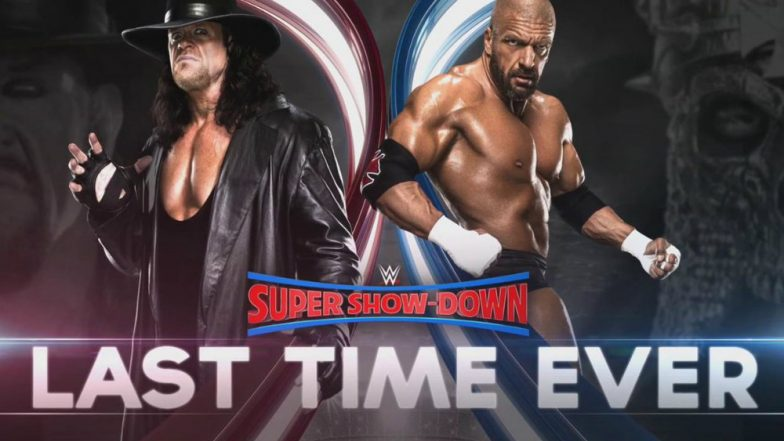 Triple H vs The Undertaker at WWE Super Show-Down: After 'End of an Era' at Wrestlemania 28, Fans Gear Up For 'Last Time Ever' Match in Australia