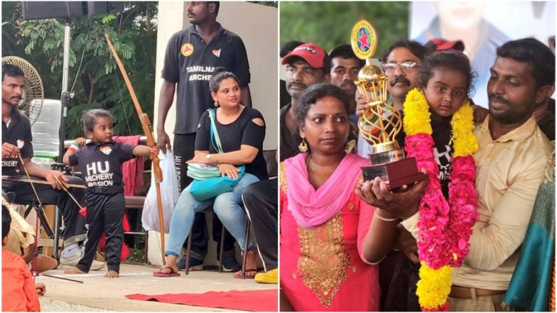 3-Year-Old From Chennai Shoots 1111 Arrows in 3.5 Hours for Guinness World Record