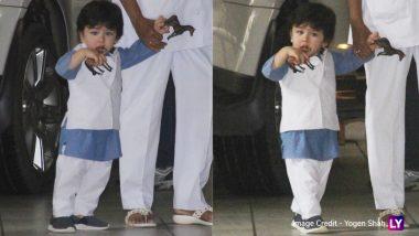 Taimur Ali Khan Dresses Up Like Daddy Saif for Rakshabandhan – View Pics
