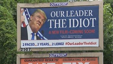 'Our Leader The Idiot': Anti-Donald Trump Billboard Sparks Outrage in New Jersey