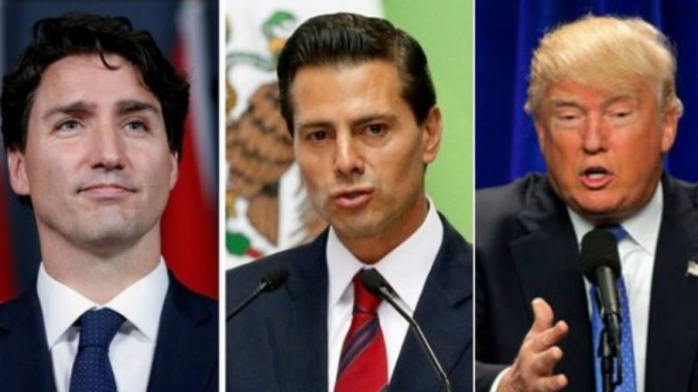 Donald Trump Announces 'Incredible Trade Deal' with Mexico, Leaves Canada Out in the Cold
