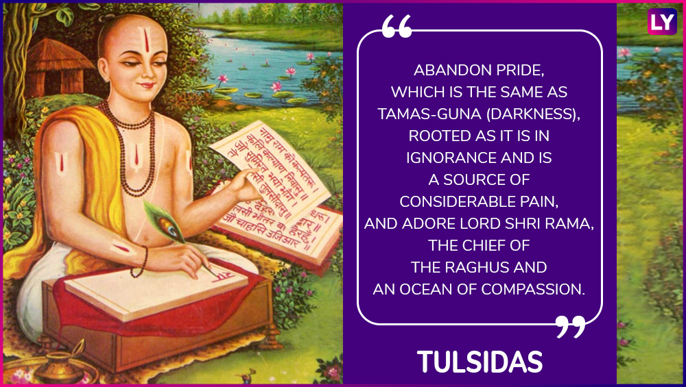 Quotes By Tulsidas In Hindi Remembering The Great Hindu Saint