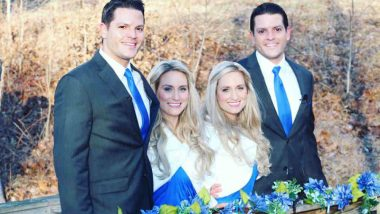 Identical Twin Brothers Who met Identical Twin Sisters at Twins Days Festival Marries in a Joint Wedding