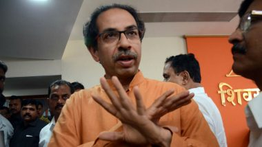 Uddhav Thackeray Rakes Up Ram Mandir Issue Ahead of Maharashtra Assembly Elections 2019, Says 'Shivsainiks Ready to Lay First Stone of Temple'