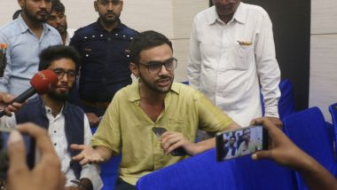 Umar Khalid Attack: Two Men Arrested by Delhi Police For Firing at JNU Student