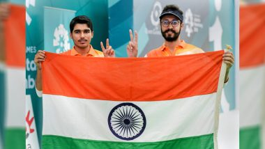 Twitterati Lauds Saurabh Chaudhary For Winning Gold Medal & Abhishek Verma For Bronze in 10m Air Pistol Event at Asian Games 2018
