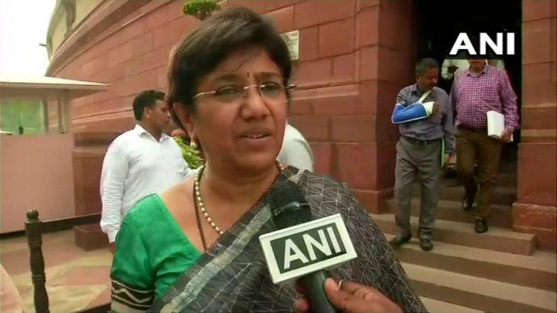 NCP's Vandana Chavan Likely to be Opposition's Rajya Sabha Deputy Chair Nominee