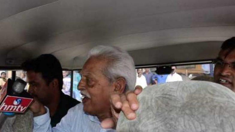 Bhima Koregaon Case: Activist Varavara Rao Hospitalised After He Complained of Difficulty in Breathing