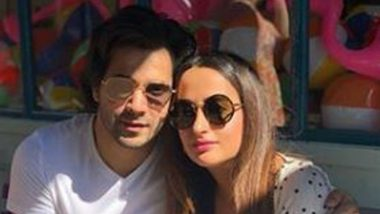 Varun Dhawan Receives a Romantic Birthday Message From Girlfriend Natasha Dalal (View Pic Inside)