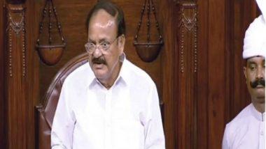 Uproar in Rajya Sabha Over Assam NRC List, Venkaiah Naidu Urges Members to Let House Function Smoothly