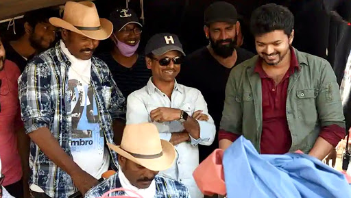 Sarkar: These Stills From The Sets of Vijay's Film With AR Murugadoss Will Leave You Intrigued