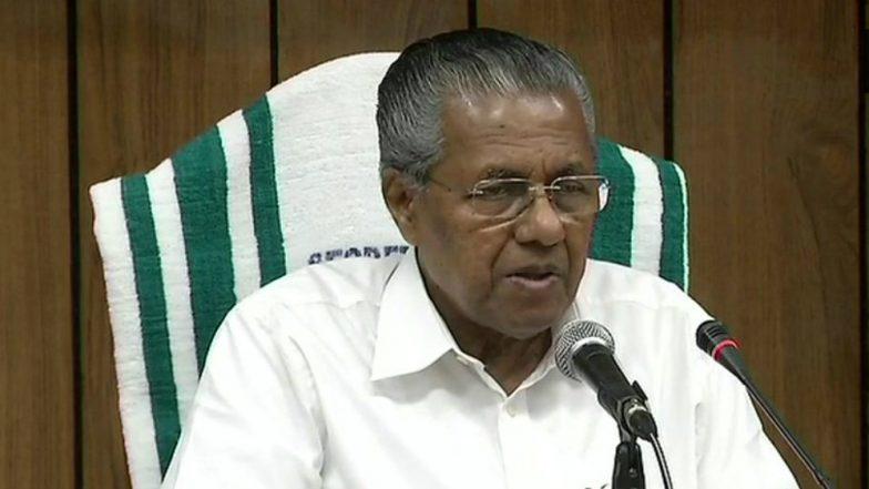 Kerala Floods: CM Pinarayi Vijayan Announces Rs 4 Lakh Compensation to Families of Deceased Victims