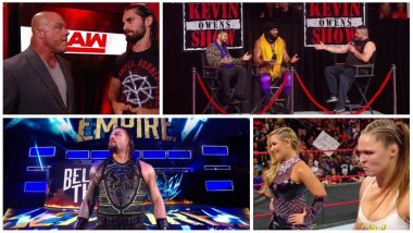 WWE Monday Night RAW Matches' Results and Highlights: Ronda Rousey Wins Debut Match; Roman Reigns Defeats Baron Corbin