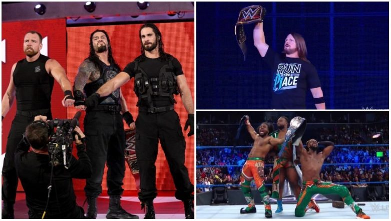 This Week's RAW and SmackDown LIVE Results and Highlights: Roman Reigns Defends Championship Title Against Finn Balor; The New Day Crowned New Tag-Team Champions