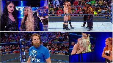 WWE SmackDown LIVE Matches Results and Highlights: Charlotte Flair Returns, Sets Up Triple Threat Match Against Becky Lynch and Carmella at SummerSlam PPV