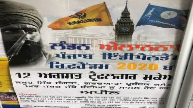 SFJ Burns Indian Flag, Threatens to Hoist Khalistan Flag in Different Countries on August 15, in Retaliation to Indian Ban