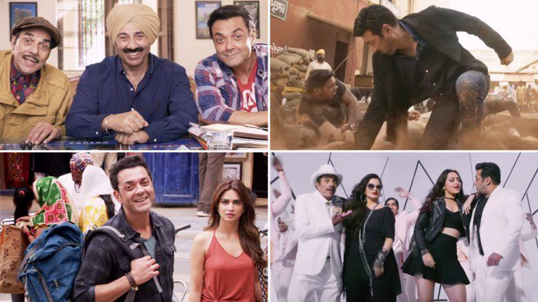 Yamla Pagla Deewana Phir Se Trailer: Dharmendra, Sunny and Bobby Deol's Hilarious Chemistry and Salman Khan, Sonakshi Sinha, Rekha's Cameos are the Highlights - Watch Video