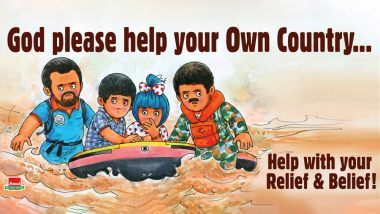 Amul's Topical Ad on Kerala Floods Urges to 'Help With Your Relief & Belief!