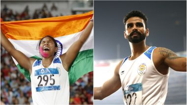 Asian Games 2018: Gold Medal Winners Swapna Barman, Arpinder Singh Create History as India Extends Athletics Golden Run in Asiad