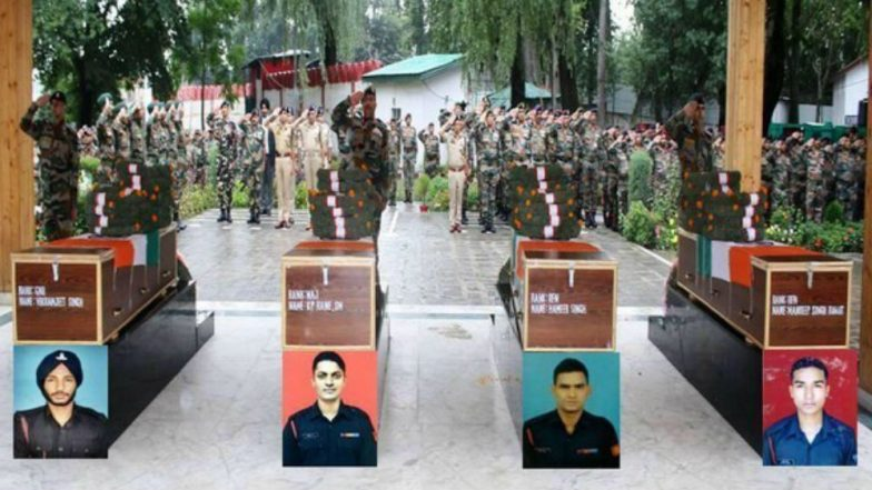 Army Pays Tribute to Soldiers Killed During Counter Operation in Bandipora District