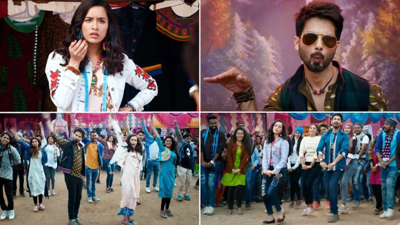 Batti Gul Meter Chalu Song Gold Tamba: Shahid Kapoor and Shraddha Kapoor Groove on This Typical Bollywood Number