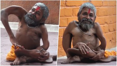 'Bendy Priest' From Madhya Pradesh Suffers From a Rare Disease That Makes His Bones Bend and Body Shrink! (Watch Video)