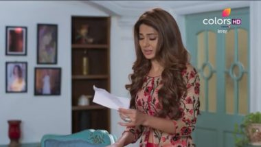 Bepannaah Written Episode Update, August 20, 2018:Zoya Reads Aditya's Letter Again And Realises That he Never Lied