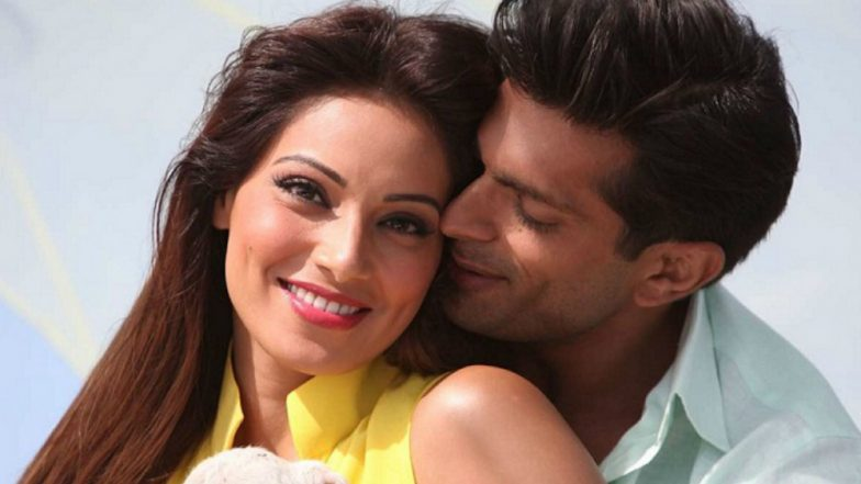 Bipasha Basu and Karan Singh Grover's Airport Hug Makes Onlookers Go Awww: View Pics