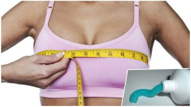 Does Toothpaste Help to Increase Your Breast Size and Prevent Sagging? Here's The Truth About This Home Beauty Hack