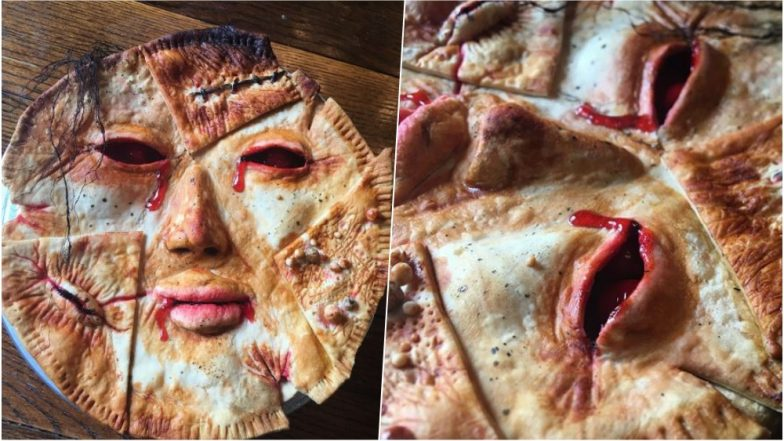 Baker Creates Spooky Murder-Inspired Pie That Looks too Real to Eat! (View Pics & Video)