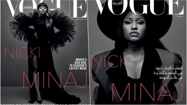Nicki Minaj's First Ever Vogue Cover! Rapper Slays on the Cover of Vogue Arabia's September'18 Issue (See Pics)