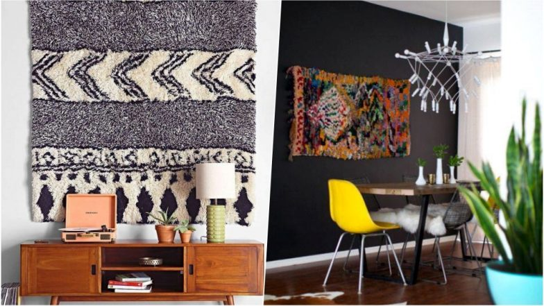 Interior Decor Tips: Ways to Use Carpets as Wall Art to Add an Extra Dose of Glamour to Your Home