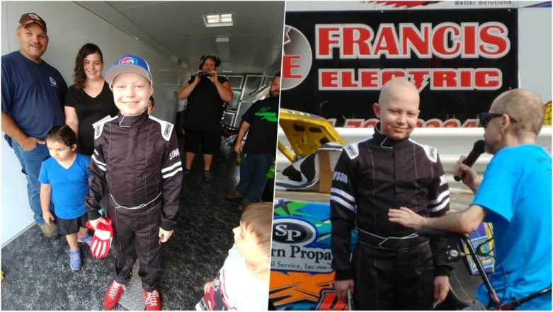 11-Year-Old Iowa Boy Dying from Leukemia Wants Racing Car Stickers for His Casket
