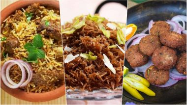 Bakra Eid 2018 Recipes: From Mutton Biryani to Meethi Seviyaan, Traditional Dishes to Savour on Eid al-Adha Dawat (Watch Videos)